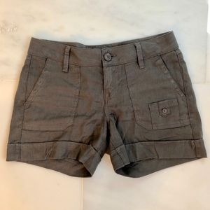 Level 99 Linen Blend Shorts by Anthropologie - 26